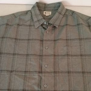 Haggard button down size XL 100% linen